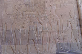 Couronnement Pharaon