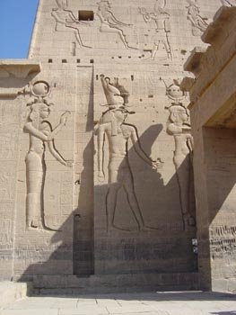 Philae Hathor Horus